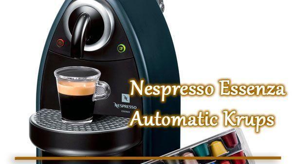 De'Longhi Nespresso Essenza Automatic Earth XN2140 Krups