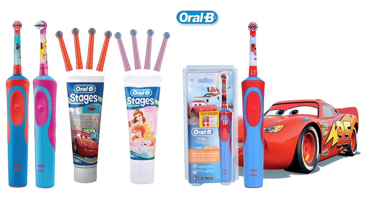 Cepillo de dientes eléctrico infantil Oral-b - Tibuganga - Mejores ... 2ff0cd735469